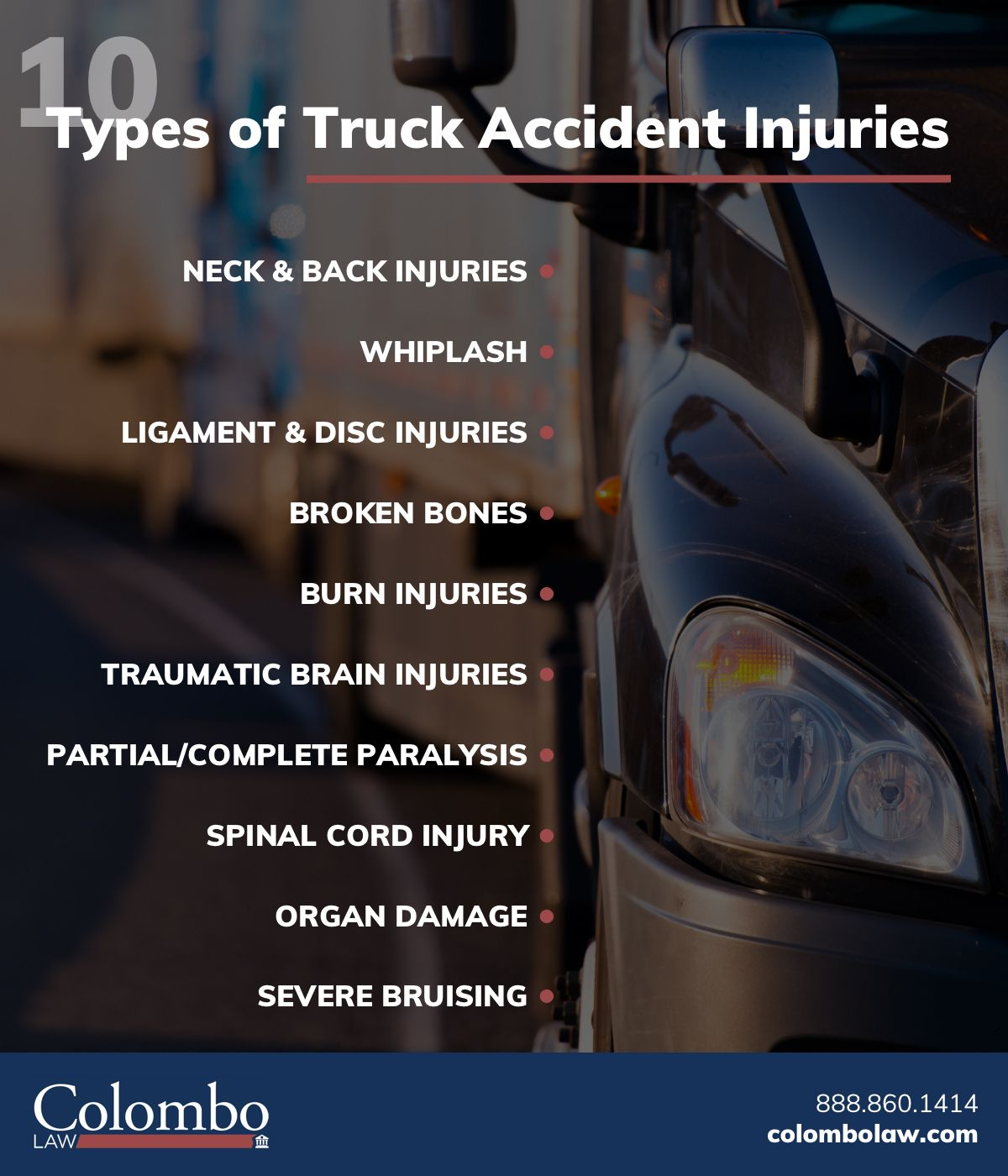 Truck Accident Injuries